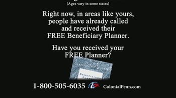Colonial Penn TV Spot, 'Important Message: Beneficiary Planner' Featuring Alex Trebek - Thumbnail 2