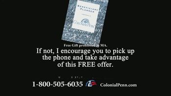 Colonial Penn TV Spot, 'Important Message: Beneficiary Planner' Featuring Alex Trebek