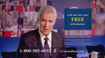 Colonial Penn TV Spot, 'Important Message: Beneficiary Planner' Featuring Alex Trebek - 52 commercial airings