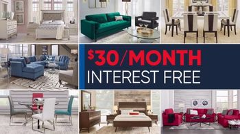 Rooms to Go Memorial Day Sale TV Spot, 'Reclining Sectional: $30' - Thumbnail 4