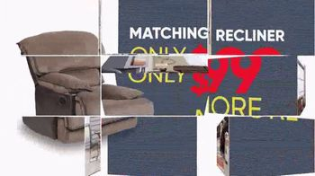 Rooms to Go Memorial Day Sale TV Spot, 'Reclining Sectional: $30' - Thumbnail 6