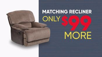 Rooms to Go Memorial Day Sale TV Spot, 'Reclining Sectional: $30' - Thumbnail 7