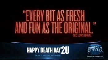 DIRECTV Cinema TV Spot, 'Happy Death Day' - Thumbnail 4
