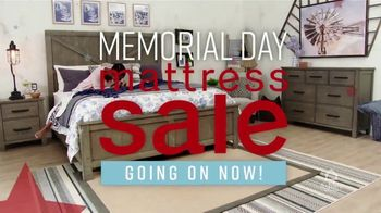 Ashley HomeStore Memorial Day Mattress Sale TV Spot, 'Stearns & Foster' Song by Midnight Riot - Thumbnail 2
