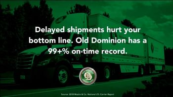 Old Dominion Freight Line TV Spot, 'Customer Relationships' - Thumbnail 1