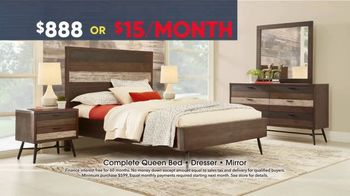 Rooms to Go Memorial Day Sale TV Spot, 'Bedroom Set' - Thumbnail 6