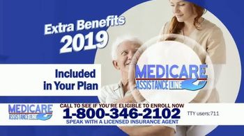 Medicare Assistance Line TV Spot, 'Exciting Extra Benefits: 2019 Plans' - Thumbnail 2