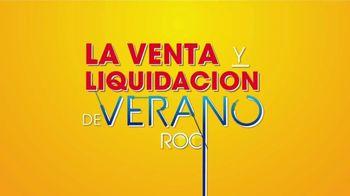 Rooms to Go Venta y Liquidación de Verano TV Spot, 'Sofá reclinable y loveseat estacionario' [Spanish] - Thumbnail 1