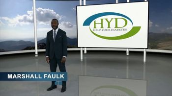Help Your Diabetes TV Spot, 'Reverse Your Diabetes' Featuring Marshall Faulk