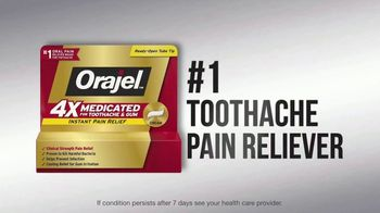 Orajel 4X Medicated TV Spot, 'Toothache' - Thumbnail 8