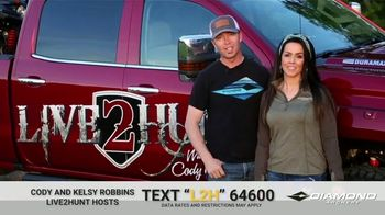 Diamond Archery TV Spot, 'Illinois White Tail Giveaway' Featuring Cody and Kelsy Robbins - 59 commercial airings