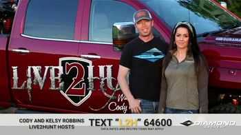 Diamond Archery TV Spot, 'Illinois White Tail Giveaway' Featuring Cody and Kelsy Robbins - Thumbnail 2