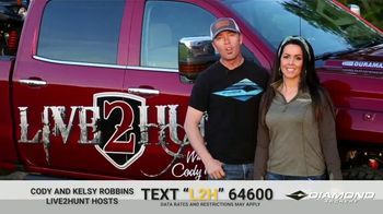 Diamond Archery TV Spot, 'Illinois White Tail Giveaway' Featuring Cody and Kelsy Robbins - Thumbnail 5
