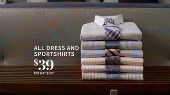 JoS. A. Bank Super Tuesday Sale TV Spot, 'August 2019: Dress Shirts & Suits' - Thumbnail 3