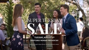 JoS. A. Bank Super Tuesday Sale TV Spot, 'August 2019: Dress Shirts & Suits' - Thumbnail 6