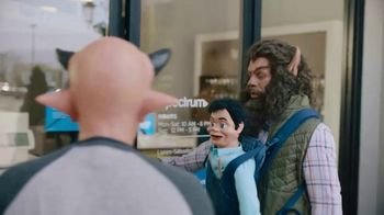 Spectrum Mobile TV Spot, \'Monsters: Walk\'
