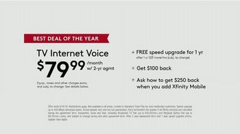 XFINITY Best Deal of the Year TV Spot, 'How It's Gonna Go Down: $79.99 a Month' Feat. Amy Poehler - Thumbnail 6