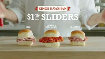 Arby's King's Hawaiian Sliders TV Spot, 'Leaked Information' Featuring H. Jon Benjamin - Thumbnail 4