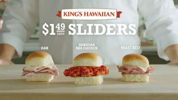Arby's King's Hawaiian Sliders TV Spot, 'Leaked Information' Featuring H. Jon Benjamin - Thumbnail 5