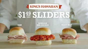 Arby's King's Hawaiian Sliders TV Spot, 'Leaked Information' Featuring H. Jon Benjamin - Thumbnail 6