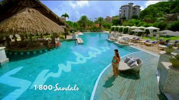 Sandals Resorts TV Spot, 'Earn Those Stars' - Thumbnail 1