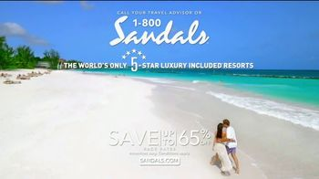 Sandals Resorts TV Spot, 'Earn Those Stars' - Thumbnail 9