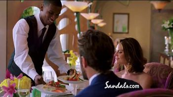 Sandals Resorts TV Spot, 'Earn Those Stars' - Thumbnail 6