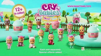 Cry Babies Magic Tears Bottle TV Spot, 'Lots to Collect' - Thumbnail 9