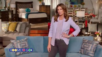 Rooms to Go Cindy Crawford Home TV Spot, 'No Other Partner' Song by Clean Bandit, Featuring Cindy Crawford
