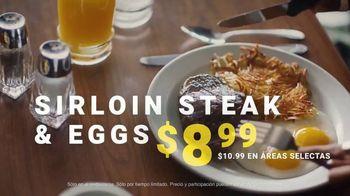 Denny's Sirloin Steak & Eggs TV Spot, 'Los bistecs no son solo para cenar' [Spanish] - Thumbnail 6