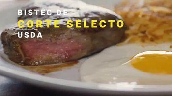 Denny's Sirloin Steak & Eggs TV Spot, 'Los bistecs no son solo para cenar' [Spanish] - Thumbnail 4