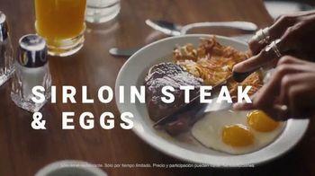 Denny's Sirloin Steak & Eggs TV Spot, 'Los bistecs no son solo para cenar' [Spanish] - Thumbnail 5