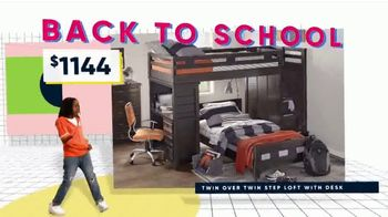 Rooms to Go Kids and Teens Back to School Sale TV Spot, 'It's Time: Beds' Song by Bagsy