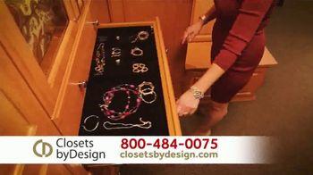 Closets by Design TV Spot, 'Get Organized' - Thumbnail 3