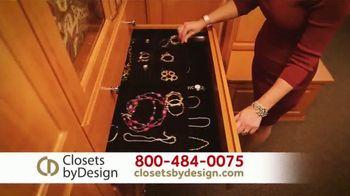Closets by Design TV Spot, 'Get Organized' - Thumbnail 4