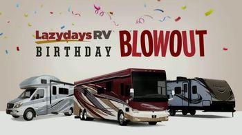 Lazydays Birthday Blowout TV Spot, 'Shop Over 1,500 RVs'