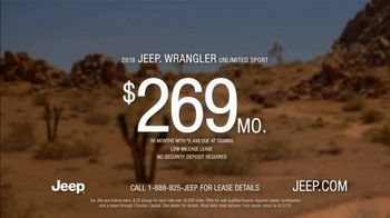 Summer of Jeep TV Spot, 'Ride Swap' Featuring Jeremy Renner [T2] - Thumbnail 9