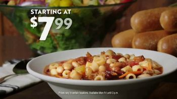Olive Garden TV Spot, 'Best Option' Song by Eric Hutchinson - Thumbnail 9