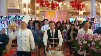 Encore Boston Harbor Labor Day of Luxury Giveaway TV Spot, 'Come Play' Song by Frank Sinatra - Thumbnail 7