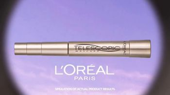 L'Oreal Paris Cosmetics Telescopic Mascara TV Spot, 'Set Your Sights' - Thumbnail 4