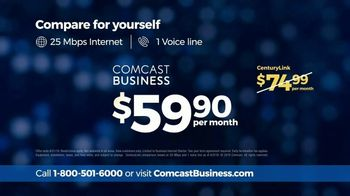 Comcast Business TV Spot, 'CenturyLink: $59.90' - Thumbnail 6