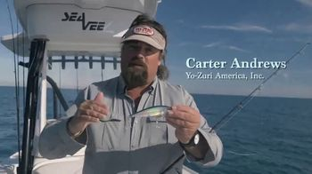 Yo-Zuri Fishing 3D Inshore Twitchbait TV Spot, 'Incredible Success' Featuring Carter Andrews - Thumbnail 2