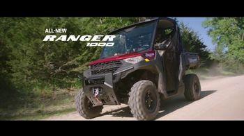 Polaris Ranger 1000 TV Spot, 'Built by Hard-Working Heroes' - Thumbnail 4