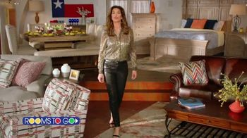 Rooms to Go Cindy Crawford Home TV Spot, 'Furnish Your Texas Home' Featuring Cindy Crawford