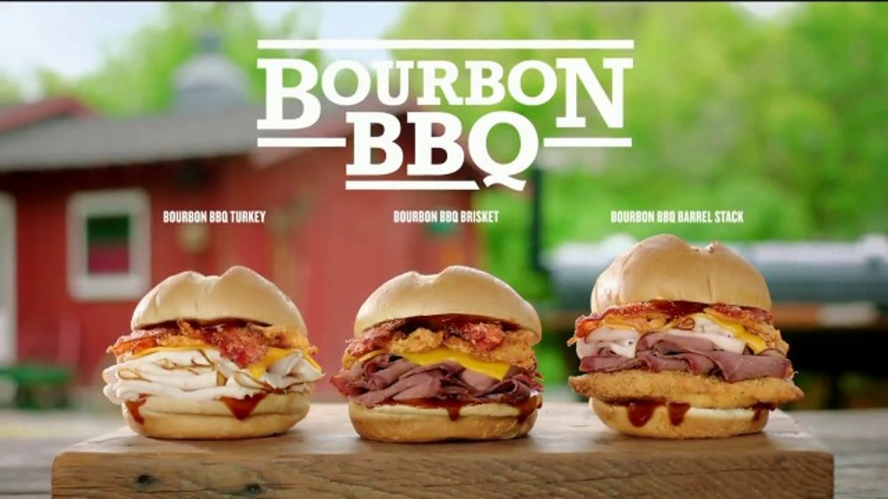 Arby's Bourbon BBQ TV Commercial, 'Name One Other Restaurant'