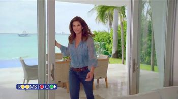 Rooms to Go Cindy Crawford Home TV Spot, 'Your Lifestyle' Song by Clean Bandit