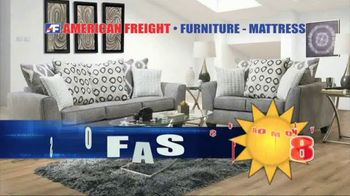 American Freight Grand Opening Anniversary TV Spot, 'Free TVs: Sofas, Sectionals and Living Room' - Thumbnail 6