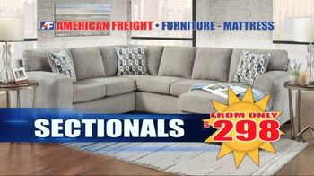 American Freight Grand Opening Anniversary TV Spot, 'Free TVs: Sofas, Sectionals and Living Room' - Thumbnail 7