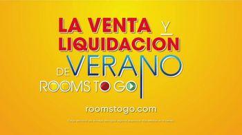 Rooms to Go La Venta y Liquidación de Verano TV Spot, 'Seccional' [Spanish] - Thumbnail 4