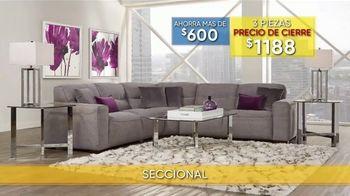 Rooms to Go La Venta y Liquidación de Verano TV Spot, 'Seccional' [Spanish] - Thumbnail 3